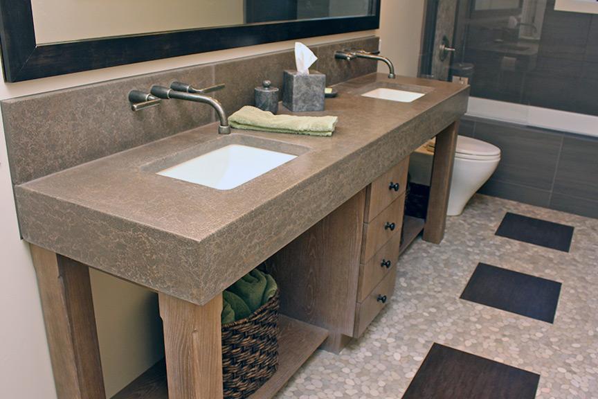 Concrete Interiors | Custom Concrete Fabrication | Martinez, CA
