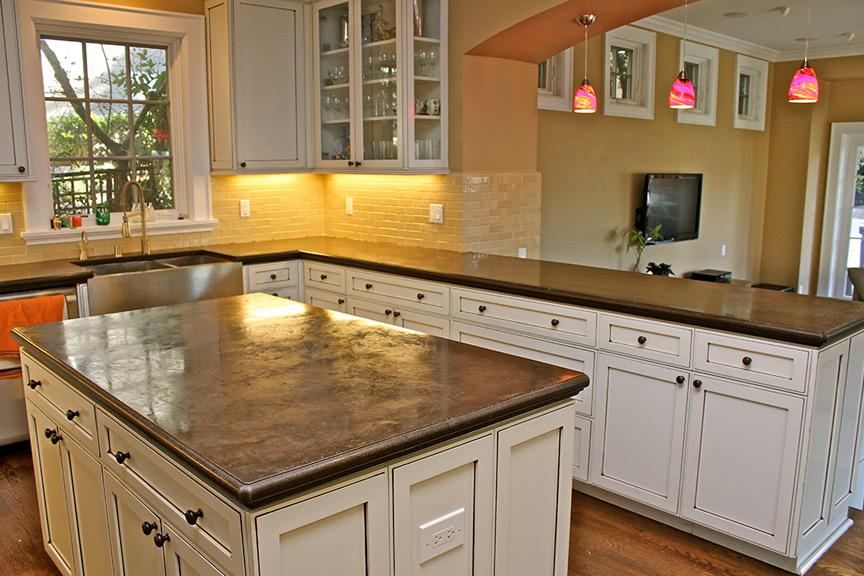 High Quality Concrete Interiors | Custom Concrete Fabrication | Martinez, CA